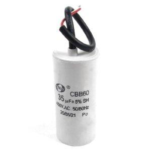 DealMux CBB60 Pince à condensateur à condensateur 35 uF 450 V