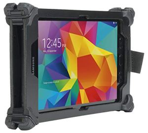 Mobilis Coque de Protection durcie Resist Pack pour Galaxy Tab Active 2 8 » – Bandoulière Incluse – Noir