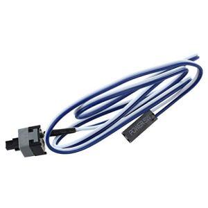 SeaStart 20.5″ Long Bouton d'interrupteur d'alimentation par Cable pour PC Commutateurs Reinitialiser Informatique