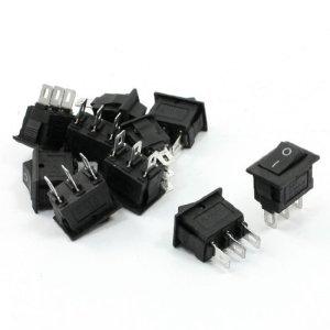 Solder SPDT ON/OFF 2 positions Interrupteur à bascule 10 PC