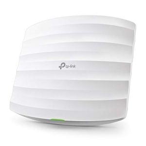 TP-Link EAP225 Point d'Accès Wi-Fi Double Bande AC 1350Mbps PoE Gigabit – Plafonnier (300Mbps en 2.4GHz + 867Mbps en 5GHz, 1 port Gigabit, Support PoE)