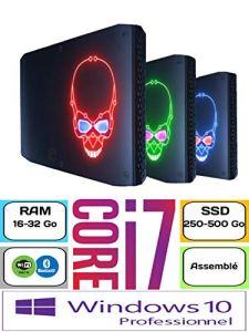 Intel NUC8I7HVK | SSD 500Go | Ram 32Go | Windows 10 Pro | Core i7-8809G | 970 Evo NVMe | Radeon RX Vega M GH | Nuc Hades Canyon | Intel NUC sur Mesure | Mini PC assemblé
