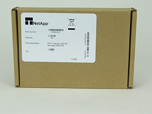 NetApp X6563-r610GbE SR émetteur-Récepteur Optique SFP + 10Go