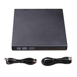 USB CD/DVD-RW Intelligent Writer Burner External Hard Drive CD RW DVD ROM black