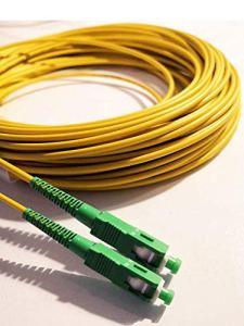 Câble à Fibre Optique (jarretière Optique) SC/APC-SC/APC pour Orange Livebox SFR La Box Fibre Bouygues Telecom Bbox (5M)