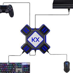 Codream Convertisseur de Souris et Clavier, Adaptateur de Convertisseur de Clavier et de Souris pour PS4, Xbox One, Switch, PS3