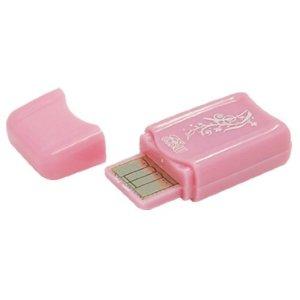 DealMux Mini USB 2.0 Micro SD T-Flash TF Lecteur de Carte mémoire Rose