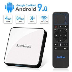 Leelbox TV Box Android 9.0【4GB+64GB】 KM3 Boîtier TV 2.4GHz Support BT 4.1/WiFi/3D/4K/H.265 [2019 Dernière Version]