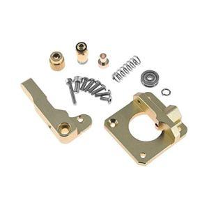 MachinYesell Extrudeuse en alliage d'aluminium CR10 Extrudeuse Reprap de filament de l'extrudeuse 1.75MM de Bowden pour les pièces de rechange pour l'imprimante CR-10 DIY 3D, main gauche