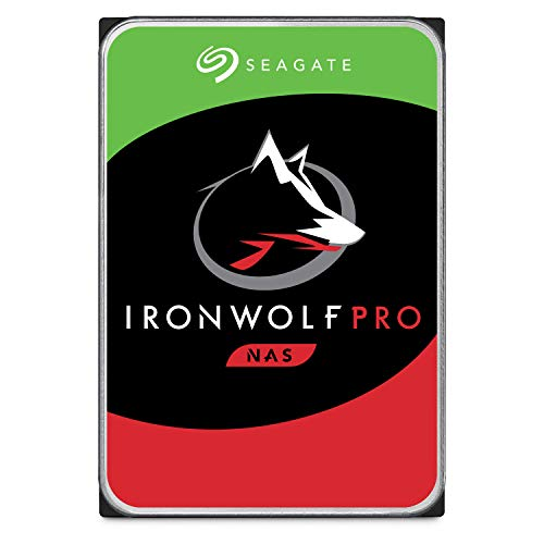 Seagate 2 TB IronWolf Pro Disque dur interne 3.5″ pour NAS 1-24 Bay (7200 RPM, 256 MB Cache, 300 TB/year Workload Rating, Up to 214 MB/s, Model: ST2000NEZ025/NE0025)