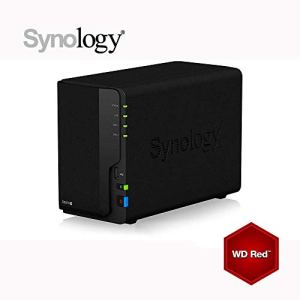 Synology DS218+ 6Go NAS 8To (2x 4To) WD RED