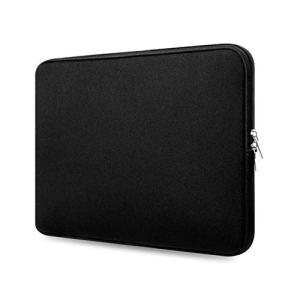 Basics Sacoche pour Ordinateur Portable de 13 Pouces Anti-Choc, Anti-Choc Protection pour Ordinateur Portable et Tablette Sac Housse pour MacBook Noir