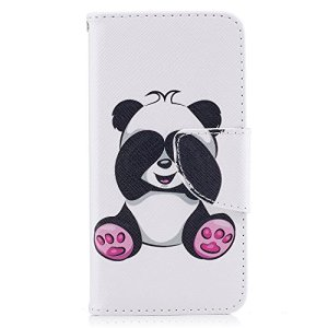 Tosim Coque iPhone 5S 5 Se Cuir PU Etui Flip Case Housse Portefeuille avec Porte Carte Support et Fermeture Magnétique pour Apple iPhone5S / iPhoneSE / iPhone5 – TOBFE51328 T6