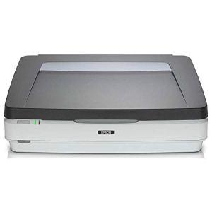 Epson Expression 12000XL Pro Numérisation à Plat 2400 x 4800DPI A3 Gris, Blanc – Scanners (310 x 437 mm, 2400 x 4800 DPI, 16 bit, 48 bit, 48 bit, 12 Sec/Page)