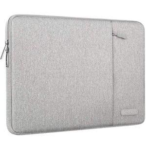 MOSISO Housse Compatible avec 12,3 Pouces Microsoft Surface Pro 6/5/4/3, 11-11.6 Pouces MacBook Air, Laptop Sleeve Polyester Verticale Hydrofuge Sac avec Poche Accessoires, Gris
