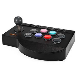 MoPei PXN Arcade Fighting Stick, Contrôleur de Jeu Arcade pour PS3 / PS4 / Xbox One / PC Fighting Games, Arcade Joystick Controller Kit