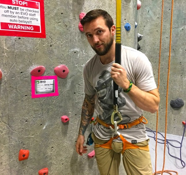 Auto-belay Day Evo Rock Fitness - Portland