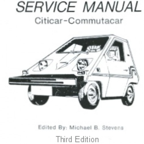 CitiCar and ComutaCar Service Manual
