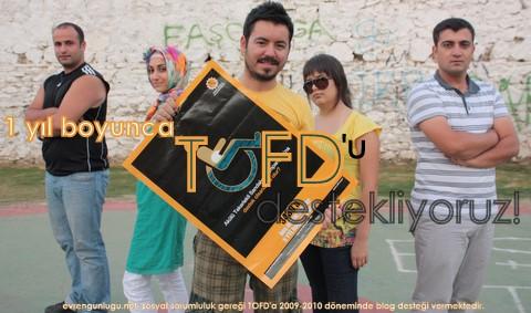 TOFD'u destekliyoruz!