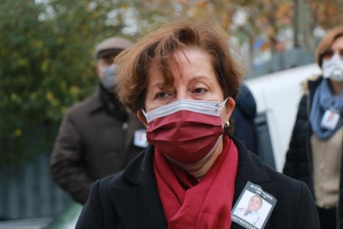 İstanbul Tabip Odası Başkanı Pınar Saip.