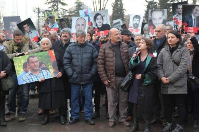 10 Ekim Ankara katliamı protestosu