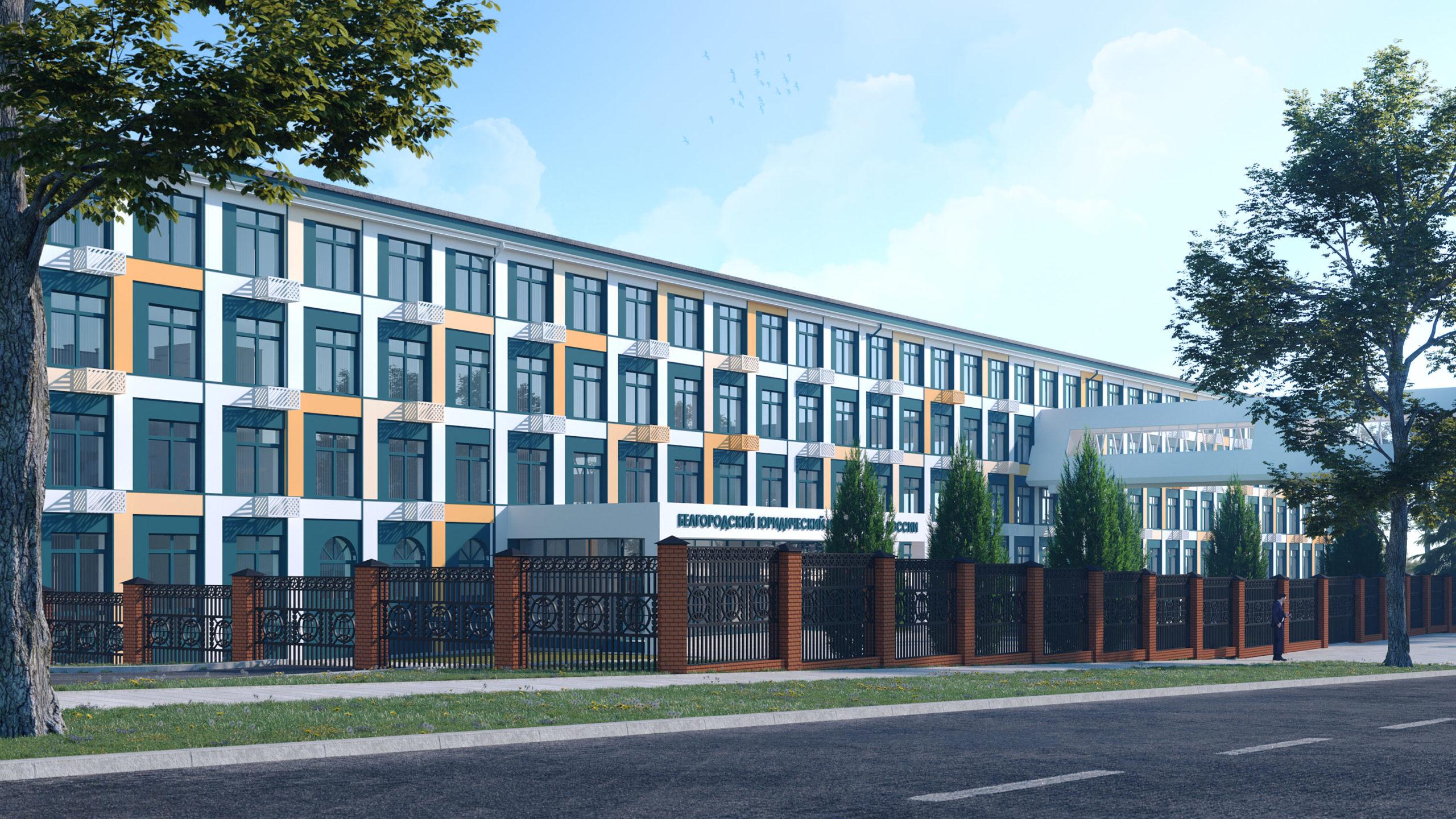 Общий вид здания со стороны ул. Горького