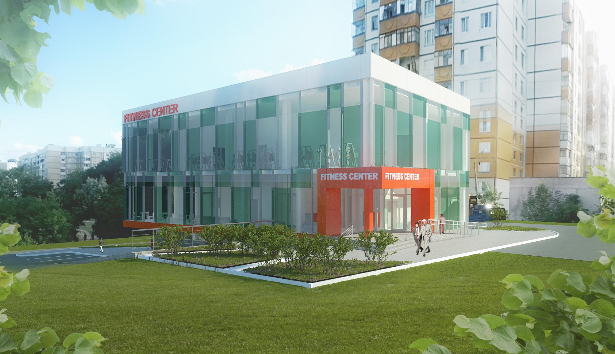 Проект фитнес-центра в Белгороде