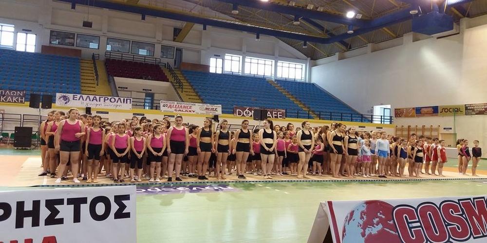 Πετυχημένο το 2ο Διεθνές meeting Γενικής Γυμναστικής της Ορεστιάδας