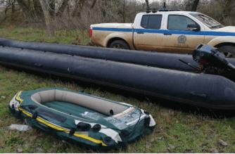 Νέα Βύσσα: Τρεις συλλήψεις απ'την αστυνομία στις όχθες του ποταμού Έβρου