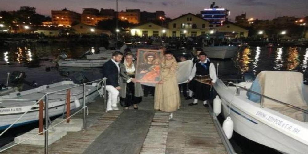 Η εικόνα της Παναγίας Τριφώτισσας απ' τον Αίνο έρχεται και φέτος στην Αλεξανδρούπολη