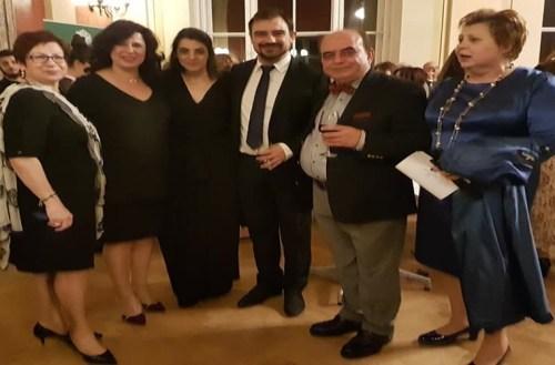 Ο ελληνικός πολιτισμός τιμήθηκε απ' το Πανεπιστήμιο της Βιέννης στο πρόσωπο του Εβρίτη Αθανάσιου Σίμογλου
