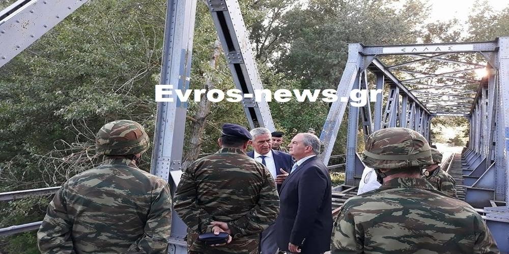 Παρουσία του πρώην Πρωθυπουργού Κώστα Καραμανλή πάνω στα ελληνοτουρκικά σύνορα (ΑΠΟΚΛΕΙΣΤΙΚΟ φωτορεπορτάζ)