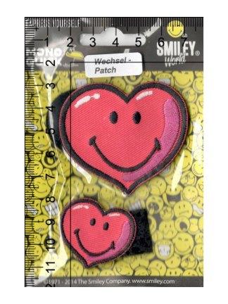 Термоаппликация<br>MQ-MD-18830-2020<br>Сердечки с липучкой / Smiley</br>