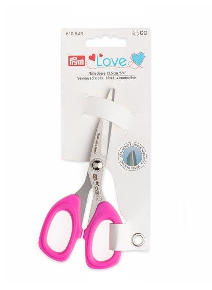 Ножницы для шитья с микрозаточкой Prym Love