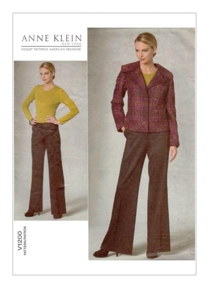 Выкройка Vogue №1200