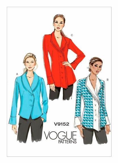 Выкройка Vogue №9152