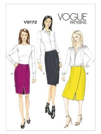 Выкройка Vogue №9172