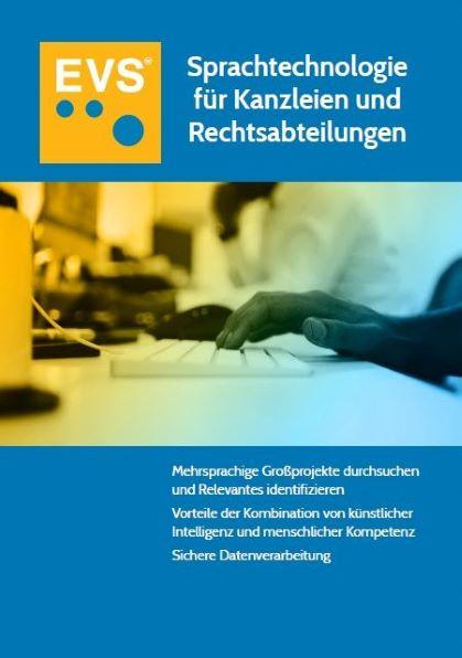 """Jetzt bestellen: Exklusives Whitepaper <br>""""Sprachtechnologie für Kanzleien und Rechtsabteilungen"""""""