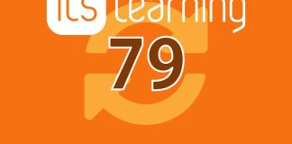 itslearning - Notes on Release 79