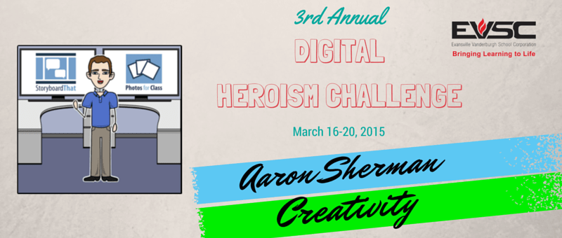 EVSC Digital Heroism Challenge- Day 1- Creativity