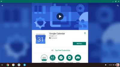 Google Calendar Install