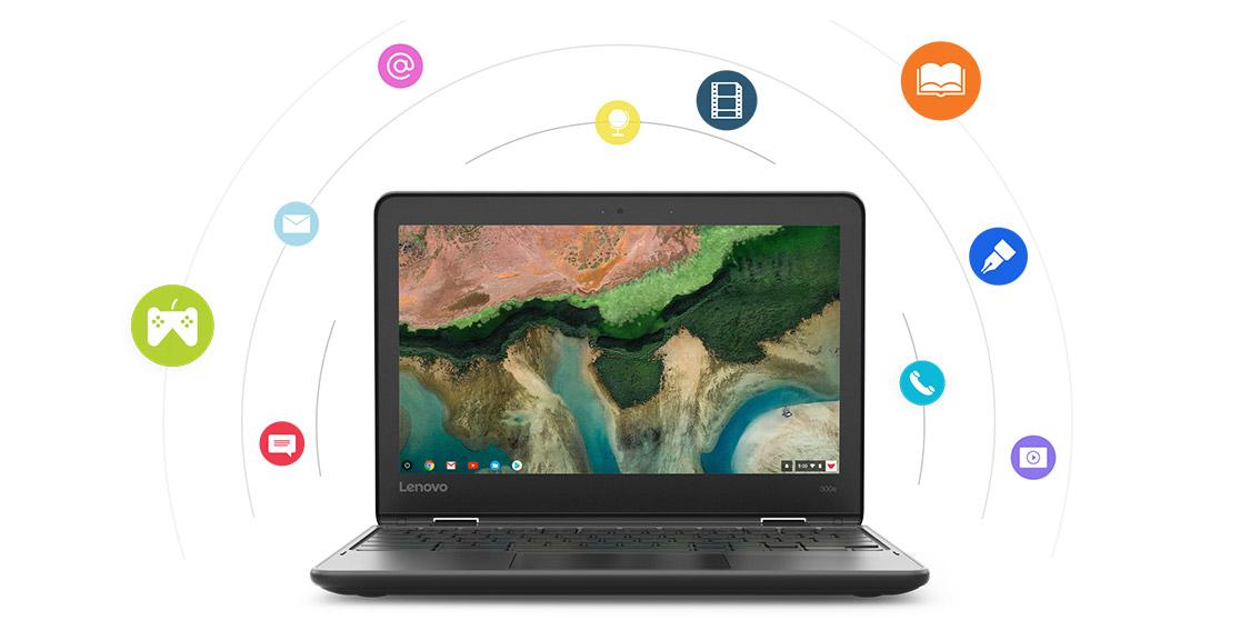 The EVSC Chromebook – Lenovo 300e