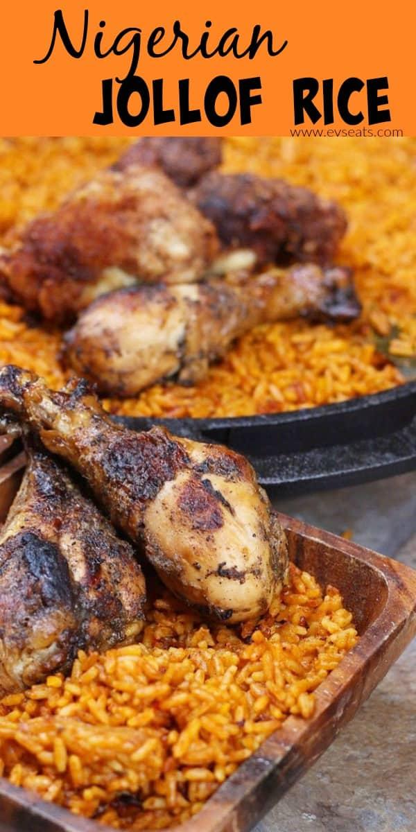 How to Make Jollof Rice in 5 Easy Steps - Ev's Eats