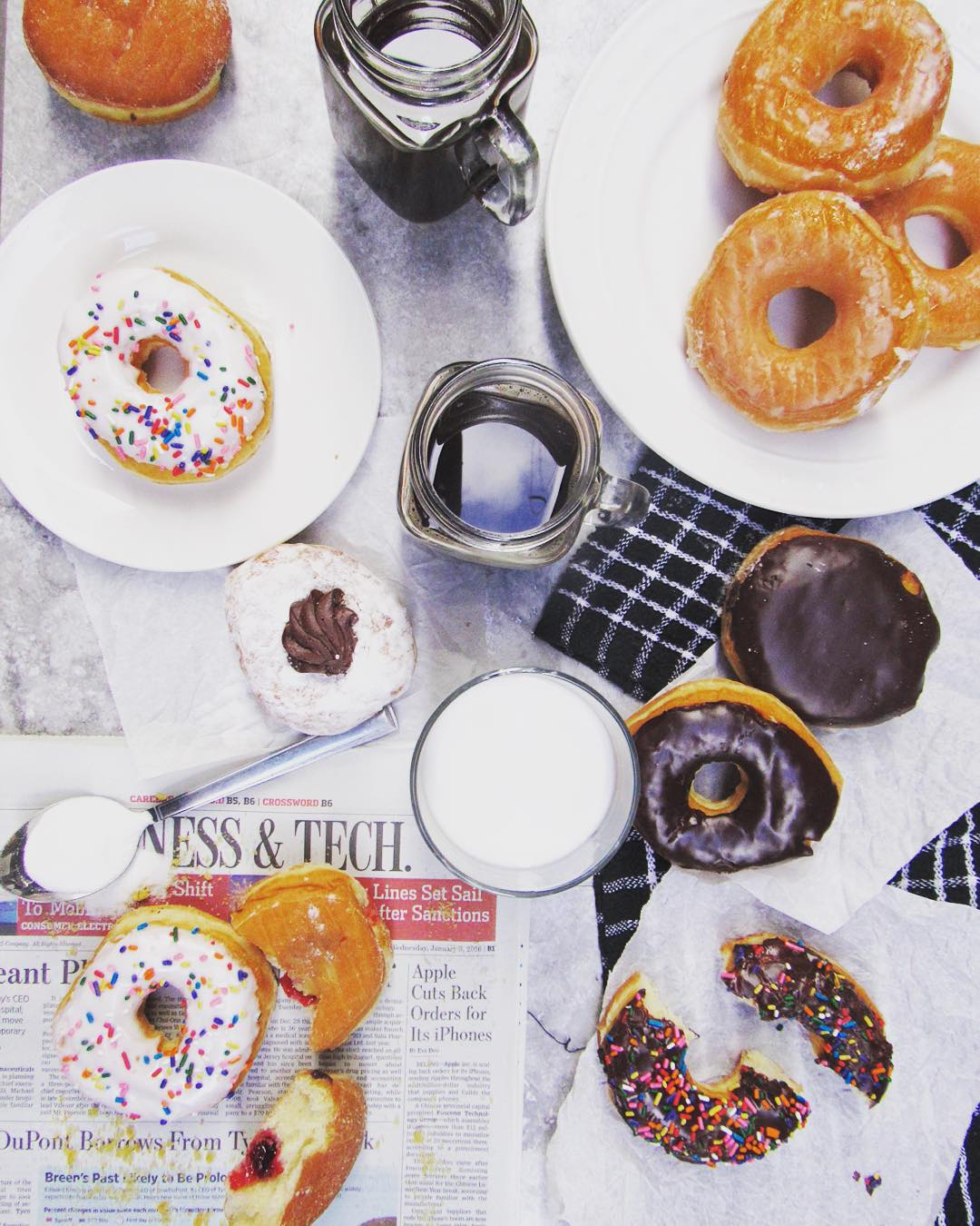 Sunday Breakfast at Home with Dunkin Donuts - Ev\'s Eats