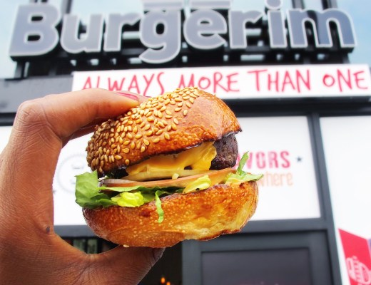 A sneak peak at the first Burgerim US location!The mini burger chain from Israel makes it's debut in two weeks!