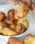 Puff Puff, a very popular Nigerian street food that's easy to make and dangerously delicious!