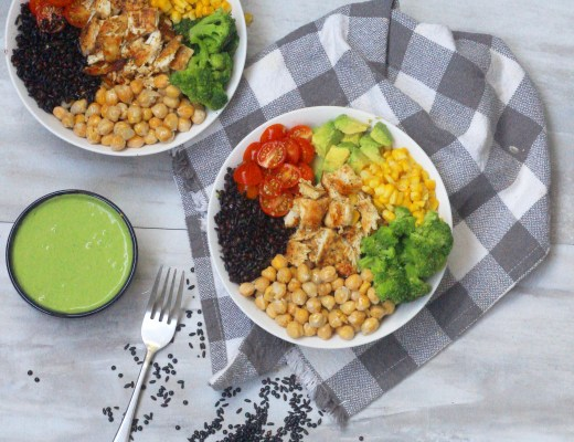 Super easy, flavorful, nutrient packed Earth bowls that can be made in your very own home! Packed with protein & antioxidants!