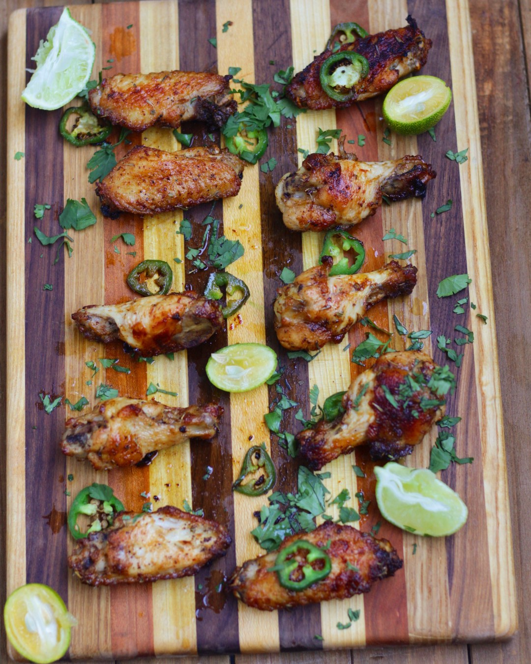 These Creole butter chicken wings are seasoned to perfection! Spicy, zesty, and full of flavor!