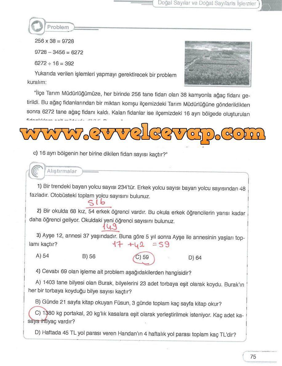 5 Sinif Dikey Yayincilik Matematik Ders Kitabi Sayfa 75 Cevabi
