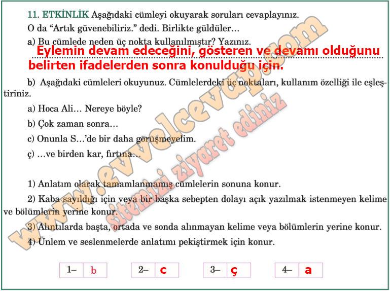 Bu Nehir Bizim Metni Etkinlik Cevaplari 5 Sinif Turkce